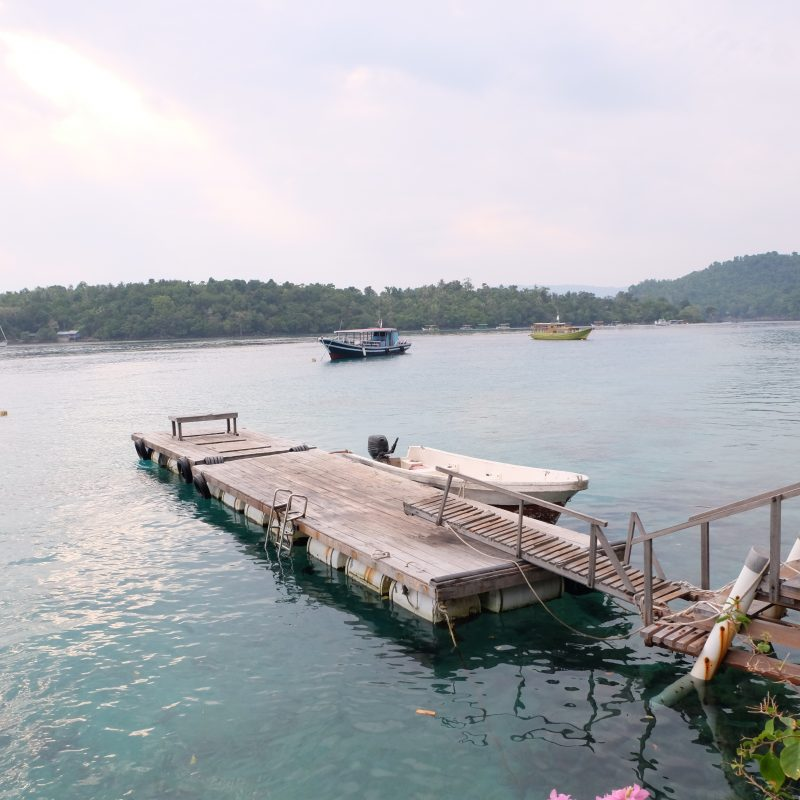 Iboih Inn Jetty